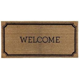 """1'10""""x3'11"""" Welcome Estate Doormat - Threshold™   Target"""