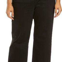 Ribcage High Waist Ankle Straight Leg Jeans | Nordstrom