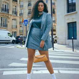 Plaid Mini Skirt | Eloquii