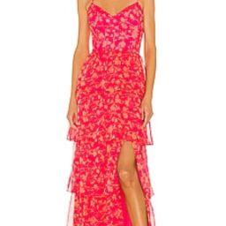 Amanda Uprichard Thaddea Maxi Dress in Brookeside from Revolve.com   Revolve Clothing (Global)