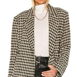 ANINE BING Kaia Blazer in Houndstooth from Revolve.com   Revolve Clothing (Global)