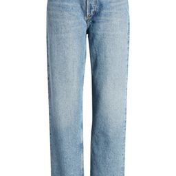 '90s Pinch High Waist Straight Leg Organic Cotton Jeans | Nordstrom