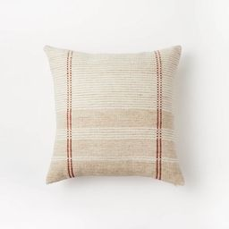Woven Striped Throw Pillow Neutral - Threshold™ designed with Studio McGee   Target