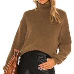 L'Academie Cashew Pullover in Tan from Revolve.com   Revolve Clothing (Global)