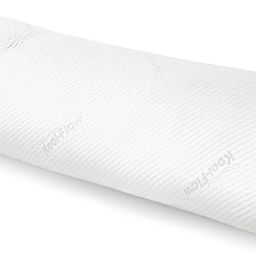 Snuggle-Pedic Full Body Pillow w/ Shredded Memory Foam, Cooling Bamboo Cover - GreenGuard Gold Ce... | Amazon (US)