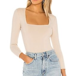 Free People Truth Or Square Bodysuit in Nude from Revolve.com   Revolve Clothing (Global)