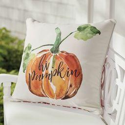 'Hi Pumpkin' Pillow | Grandin Road | Grandin Road