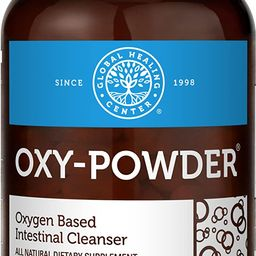 Global Healing Center Oxy-Powder Oxygen Based and Natural Colon Cleanser & Relief from Gas, Bloat... | Amazon (US)