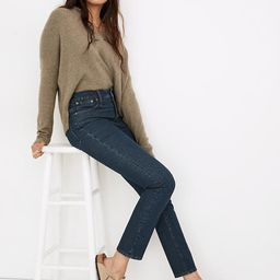 The Perfect Vintage Jean in Haight Wash   Madewell