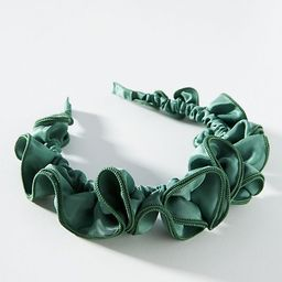 Ruffled Headband | Anthropologie (US)