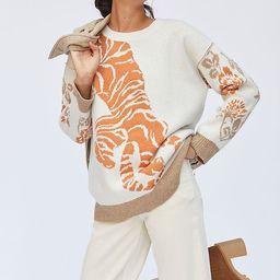 Pilcro Tiger Sweater | Anthropologie (US)