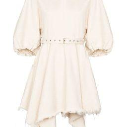 balloon sleeve mini dress   Farfetch (US)