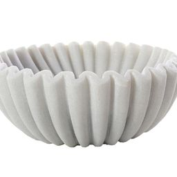 MARBLE HANDKERCHIEF BOWL   Alice Lane Home Collection
