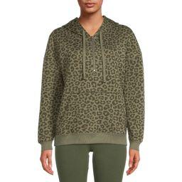 Time and Tru Women's Quarter-Zip Pullover Hoodie | Walmart (US)
