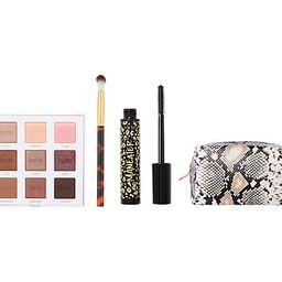 tarte Amazonian Clay Maneater Palette and Mascara 3-Pc Set w/ Bag | QVC