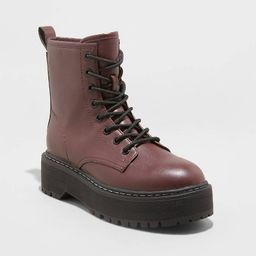 Women's Erin Lace-Up Combat Boots - Universal Thread™   Target