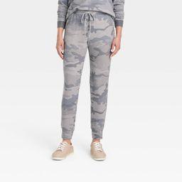 Women's Jogger Pants - Knox Rose™ Green Camo Print XS | Target