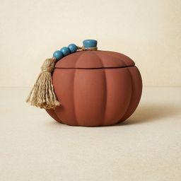 10oz Terracotta Pumpkin Blue Candle - Opalhouse™ designed with Jungalow™   Target