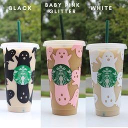 Halloween Starbucks Cup, Ghost Starbucks Cup , Spooky Season Starbucks Cup , fall season cup, spo... | Etsy (US)
