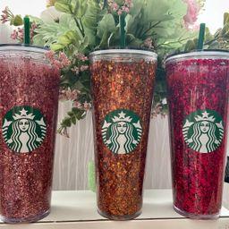 Starbucks Snow Globe Tumbler / Glitter Tumbler | Etsy (US)