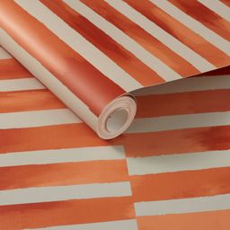Ophelia Striped Peel and Stick Wallpaper Coral - Opalhouse™ designed with Jungalow™ | Target