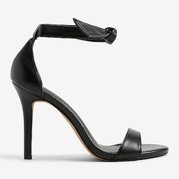 Ankle Tie Heeled Sandals | Express