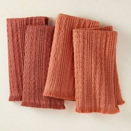 4pk Cotton Napkins Red/Coral - Opalhouse™ designed with Jungalow™ | Target