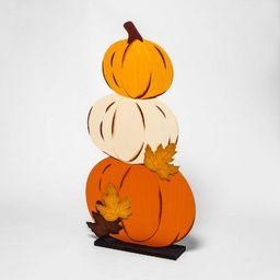 Harvest Stacked Pumpkins Wooden Sign - Hyde & EEK! Boutique™ | Target