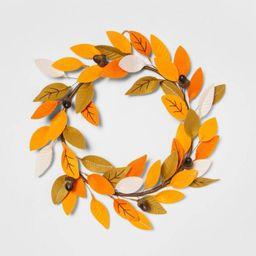 Harvest Fabric Indoor Wreath Leaves - Hyde & EEK! Boutique™ | Target
