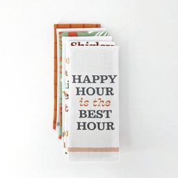 6ct Bar Towels Happy Hour is the Best Hour - Bullseye's Playground™   Target