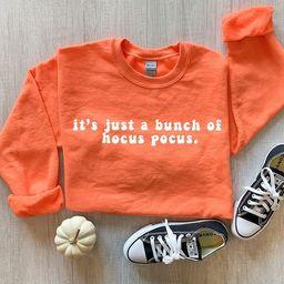 Spooky Season Fall Halloween Sweatshirt | Halloween Sweatshirt | Minimalist Holiday Tee Shirt | A... | Etsy (US)