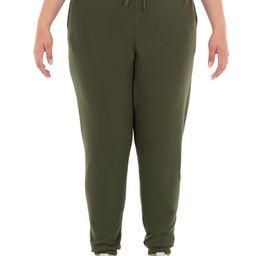 Terra & Sky Women's Plus Size Fleece Sweatpant - Walmart.com | Walmart (US)