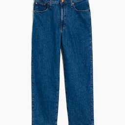 The Perfect Vintage Straight Crop Jean in Edendale Wash   Madewell