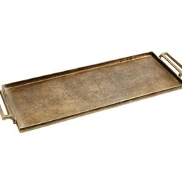 Antiqued Metal Decorative Tray   Pottery Barn (US)