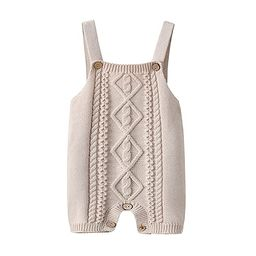 Toddler Baby Boys Knit Romper Jumper Outfits Sleeveless Baby Kint Clothes Knitwear   Amazon (US)