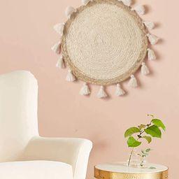 "Woven Basket Wall Decor Wicker Wall Wall Hanging Small Macrame Boho Wall Art Home Décor,12"" Diam...   Amazon (US)"