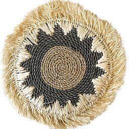 Decorative Trays Round Wicker Wall Decor, Wicker Placemats   Rattan Wall Decor, Natural Home Deco...   Amazon (US)