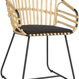 East at Main Oriana Arm Chair, Black   Amazon (US)