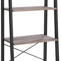VASAGLE ALINRU Ladder Shelf, 4-Tier Bookshelf, Storage Rack Shelves, Bathroom, Living Room, Indus...   Amazon (US)