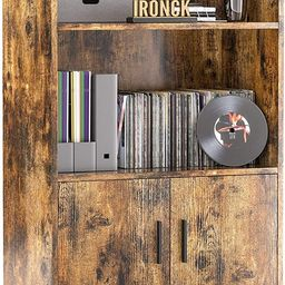 IRONCK Industrial Bookcase with Doors, Small Wood Bookcases and Bookshelves 3 Tier, Free Standing...   Amazon (US)