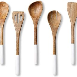Wooden Spoons for Cooking Set for Kitchen, Non Stick Cookware Tools or Utensils Includes Wooden S...   Amazon (US)