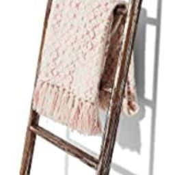 Amazon.com: Farmhouse Accents USA Rustic Blanket Ladder - Dark Brown & White Distressed Stain - S...   Amazon (US)