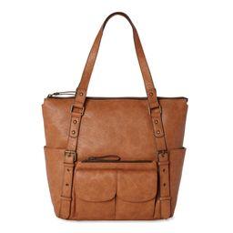 Time and Tru Rachel Tote Bag | Walmart (US)