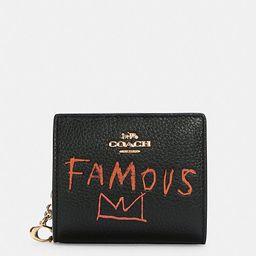 Coach X Jean Michel Basquiat Snap Wallet | Coach Outlet