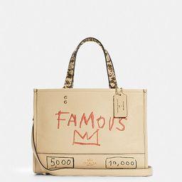Coach X Jean Michel Basquiat Dempsey Carryall | Coach Outlet