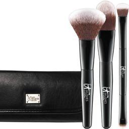 IT Brushes For ULTA Your Multi-Tasker Deluxe Dual-Ended Travel Brush Set | Ulta Beauty | Ulta