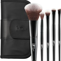 IT Brushes For ULTA Your Face & Eye Essentials Mini 5 Pc Travel Brush Set | Ulta Beauty | Ulta