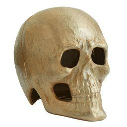 Brass Skull Votive Candle Holder | Pottery Barn (US)