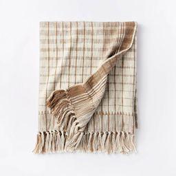 Woven Cotton Textured Loop Throw Blanket Neutral/Cream - Threshold™ designed with Studio Mc... | Target