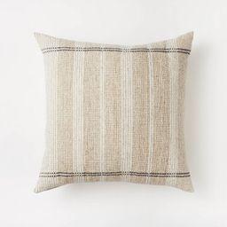 Striped Throw Pillow, Fall Fireplace Decor, Fall Pumpkin Decor, Indoor Fall Decor, CellaJaneBlog | Target